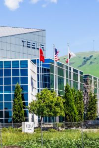 Image of Tesla Company Office
